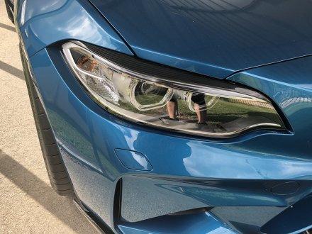 Kolfiber Ögonlock till BMW F87, F22 och F23