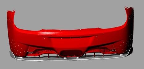 Kolfiber Diffuser till Ferrari 458