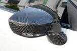 Utbytes GT-R Kolfiber Backspegelkåpor till Nissan R35 GT-R 2009-2019