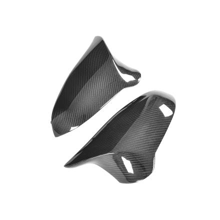 Kolfiber + ABS Utbytes Backspegelkåpor till BMW F80, F82, F83 och F87 Competition (Not Standard F87)